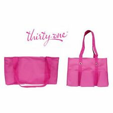 Thirty One Organizing Utility Tote Medium Utility Bag Pink Thirty-one 31 Gifts