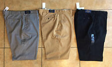 Ralph Lauren Big and Tall Men Classic Fit Essential 100% Cotton Chino Pants