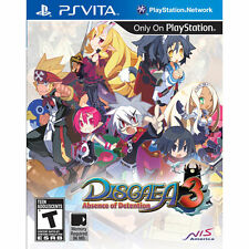 Disgaea 3: Absence of Detention (Sony PlayStation Vita, 2012) Factory Sealed