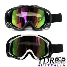 Skiing Snowboard Goggles Tinted Lens Anti-UV Ski Hiking GOGGLES Sunglasses AU