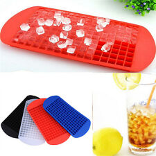 Hot 160 Mini Small Ice Cube Tray Frozen Cubes Trays Silicone Ice Maker Mold DIY