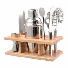 Bar Set kit Cocktail Shaker Mixer Stainless Steel Drink Bartender Martini Tools