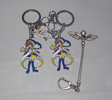 Cardcaptor Sakura Japanese Anime Keyrings/Charms