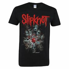 Official Mens Slipknot Band Graphic Band Printed Crew Neck T Shirt Tee Top