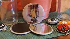 Winnie the Pooh and Friends - Pocket Mirror, Magnet or Pin Back - 2.25 Inches