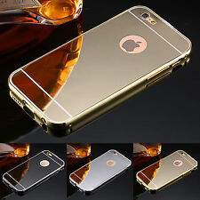 Luxury Aluminum Ultra-thin Mirror Metal Case Cover for iPhone 6/6S  plus