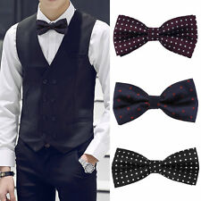 Korean Style Tie Item PT20/PT21 Black With White Spots/Blue With Red Spots OE