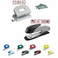Office Set: Stapler + Hole Punch + Free Gift of 1000 Staples Stationery Office