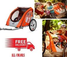 Bike Trailer InStep 2 Seat Child Bicycle Carrier Stroller Cart Folding NEW
