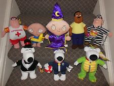 CHOOSE ONE: FAMILY GUY PETER GRIFFIN, STEWIE, BRIAN, CLEVELAND BROWN PLUSH SET!