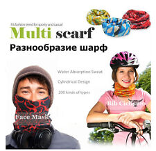 Seamless Cycling Bandana Multi-use Mountain Bike Motorcycle Riding Hat Headband