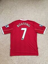 GEORGE BOATENG MIDDLESBROUGH MATCH WORN SHIRT 2007-08 ORIGINAL HOME No. 7 RARE