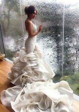 Mermaid Wedding Dress With Chapel Train, Delivery In About 23 Days.