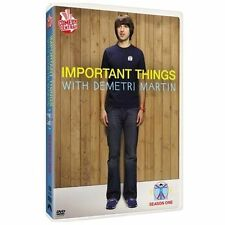 Important Things with Demetri Martin: First Season 1 One (DVD, 2009)