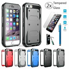 Protective Hybrid Shockproof Hard Case Cover Skin For Apple iPhone 5 / 5S / SE