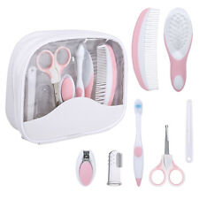 7pcs/Set Baby Grooming Care Manicure Set Healthcare kit Infant Daily Nurse Tool