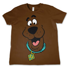 Officially Licensed Scooby Doo- Scooby Doo Face Kids T-Shirt Ages 3-12 Years