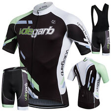 Bike Bicycle Cycling Jersey Shorts Sets Short Sleeve Clothing Sports Biking Suit