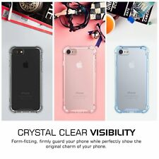 Fashion Crystal Clear TPU Skin Shockproof Hard Phone Case Cover For iPhone 7 4.7