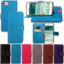 PU Leather Folio Wallet Pouch Case Wristlet Cover For iPod Touch 6th 5th Gen