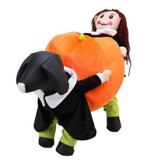 Pet Halloween Costumes Puppy Dog Pumpkin Cosplay Apparel Coat Clothes Outfit
