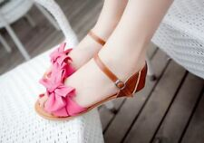 Buckle Strap Closure Ankle Wrap Side Open Party Sandal for Women KS492