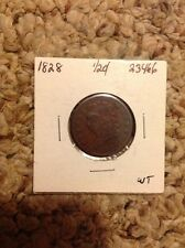 1828 1/2C 13 Stars Classic Head Half Cent **Make Offer If Interested**