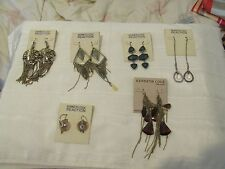 NEW Kenneth Cole Earrings Choose from 1 of 6 Long