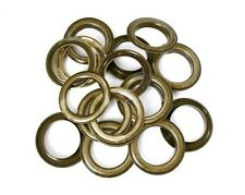 30mm Bronze Brass Grommets Eyelets with Washers Curtains Crafts Leather DIY