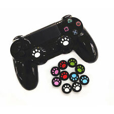 New 4Pcs Cat Paw Silicone Thumb Stick Grips Cap Cover for PS3 PS4 XBOX ONE 360