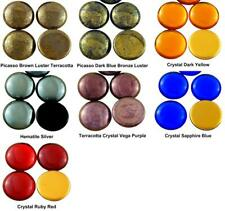 1pcs Round Domed Czech Glass Cabochon 25mm