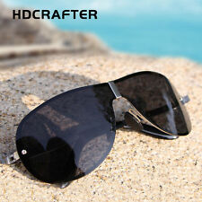 HDCRAFTER Men's Polarized 100% UV400 Rimless Sunglasses Outdoor Driving - 8490