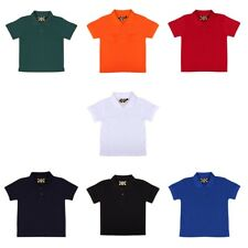 KIDS RELIANT BOYS/GIRLS POLOSHIRT T-SHIRT SCHOOLWEAR 3599B 1/2YRS -11/12yrs
