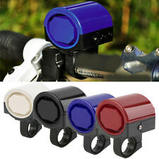 MTB Road Bicycle Bike Electronic Bell Loud Horn Cycling Hooter Siren Holder XP