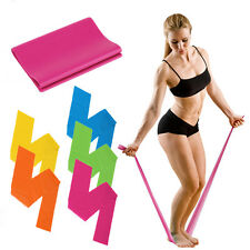 1.2M Fitness Equipment Elastic Exercise Resistance Bands Workout For Yoga XP