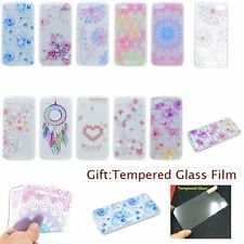 ULTRA THIN Slim Fashion Floral SOFT TPU GEL Back Case Cover Skin For WIKO Phones