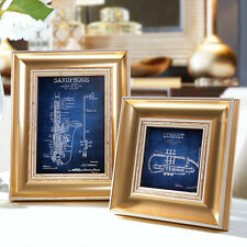 """Classic Chapter"" Resin Photo Frame with Picture Home Decor Vintage Family Frame"