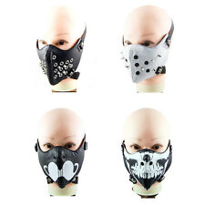 Punk PU  Gothic Cosplay Rock Leather Steam Punk Mask Motorcycle Mask Cool