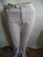 Express Womans White or Beige Khaki Chino Pants Sizes 0 & 3/4 VGC Summer Comfort