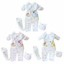 5 pcs Newborn Baby Set Boys Girls Baby Cotton Outfits Infant Casual Clothing New