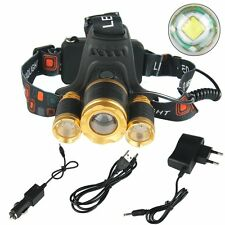 30000LM Tactical 3X CREE T6 LED 4-Mode HeadLamp FlashLight Headlight Torch 18650