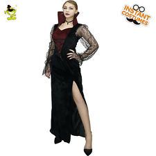 Gothic Vampire Costume Girls Fancy Dress For Woman Vampire Cosplay Party Costume