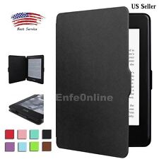 For Amazon Kindle Paperwhite 1 2 3 Magnetic Leather Guard Slim Smart Case Cover