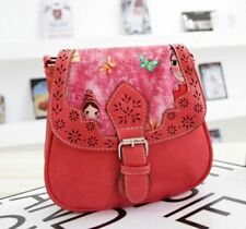 Casual PU Hollow Out Pu Leather Shoulder Purse Cross-body Bag Women