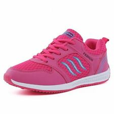 Women Canvas Fashion Rubber Material Lace Up Breathable Casual Shoes