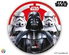 Classic Star Wars Boys Birthday Party Supplies Cups Plates Napkins Tablecover