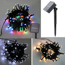 100LED Solar String Lights Outdoor waterproof lamp Wedding Xmas Party Decoration