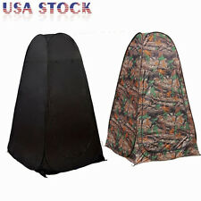 Portable Zipper Pop Up Camping Tent Dressing Changing Room Beach Shower Tent