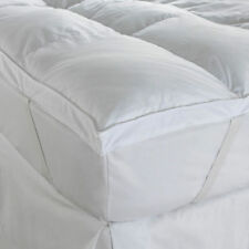 5 CM GOOSE FEATHER & DOWN TOPPER LUXURY MATTRESS TOPPER 100%COTTON
