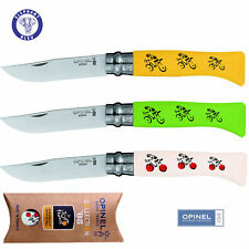 Opinel Le Tour de France No. 8 Collector knife Beechwood handle Green